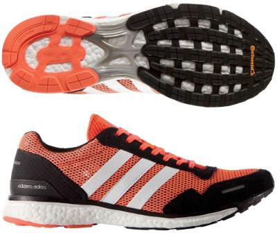 zapatillas running hombre adidas adios 3